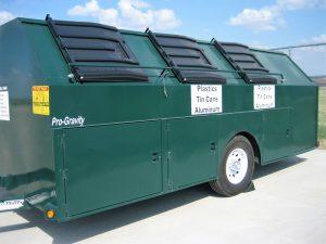 recyclcing trailer sciswa