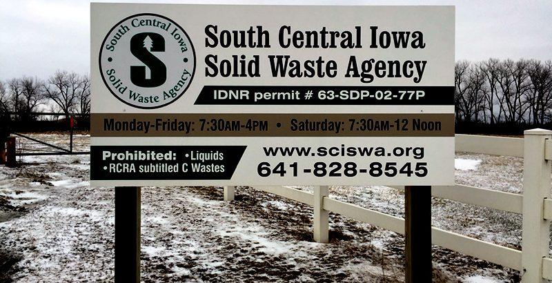 SCISWA entrance sign