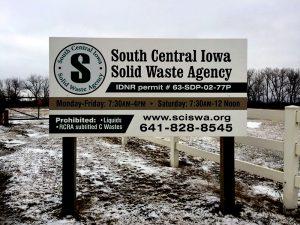 SCISWA sign