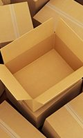 Cardboard boxes to recycle snippet